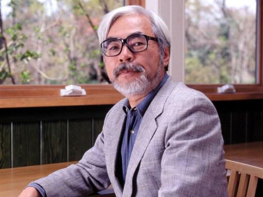 Hayao Miyazaki.